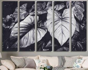 Green Leaves Wall Art 467