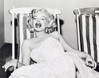 "Marilyn Monroe Limited Edition 16"" x 20"" Silver Gelatin Photograph (b) by Frank Worth"