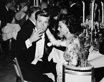 "Robert Wagner & Natalie Wood Limited Edition 16"" x 20"" Silver Gelatin Photograph (b) by Frank Worth"