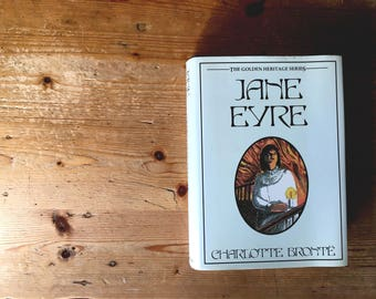 Jane Eyre by Charlotte Bronte- Vintage copy, 1987 edition