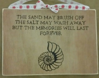 Seaside Memories Sign