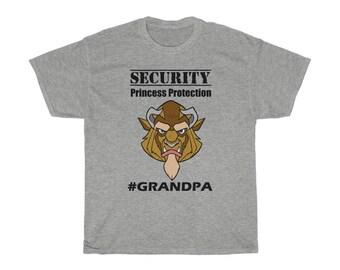 GRANDPA Custom Disney Shirt, Disney Family Vacation, Beast, Beauty and the Beast, Security, Protection Squad Short Sleeve Tee