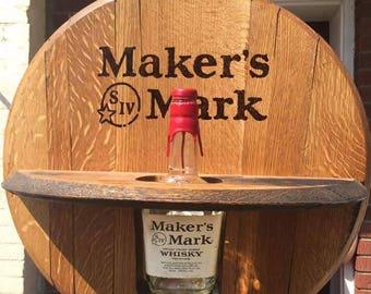 Maker's Mark Bourbon Bottle Holder - FREE SHIPPING