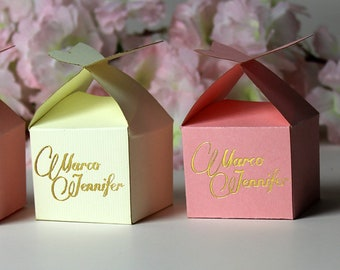 Romantic wedding table decor Summer wedding personalised favour Floral butterfly wedding favor box Extra large laser cut favour box