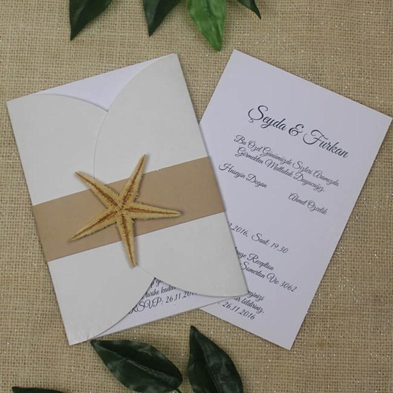 Beach Wedding Invitations Beach Themed Wedding Invitations Etsy
