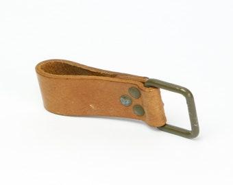 Leder Schlüsselanhänger Schlüssel Anhänger Gürtelschlaufe Karabiner