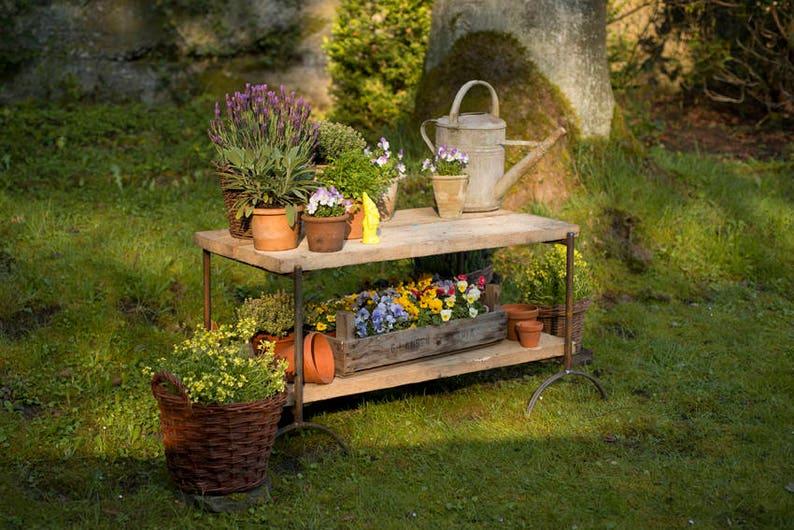 Distanza Panca Da Tavolo : Fiore fiore base scala panca da giardino fioriera tavolo fiore etsy