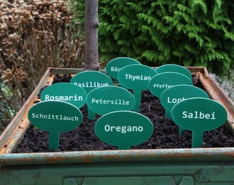 Plant Shield, Herb shield, stud signs, signs