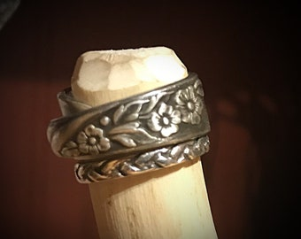 Vintage Spoon Ring Wedding Band