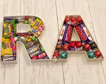 Chocolate gift. Letter. Gift. Candy. Sweets. Gift.