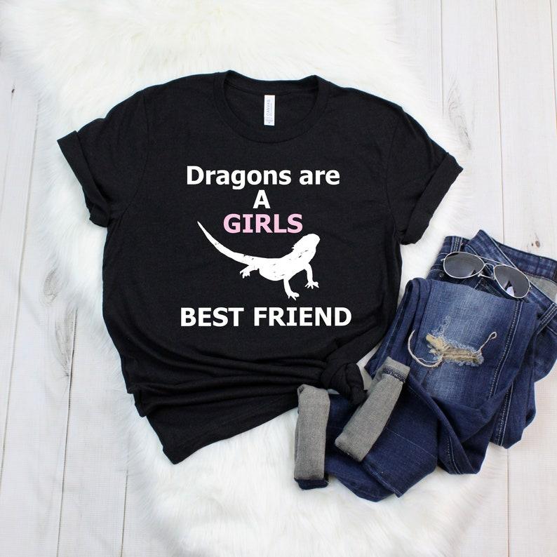 4a6b0766b Bearded Dragon Shirt Womens Reptile T Shirts Reptile T   Etsy