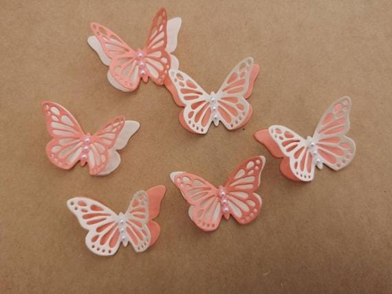 30x 3D paper butterflies Hen Night Wedding  Bridal Shower Party table decoratio