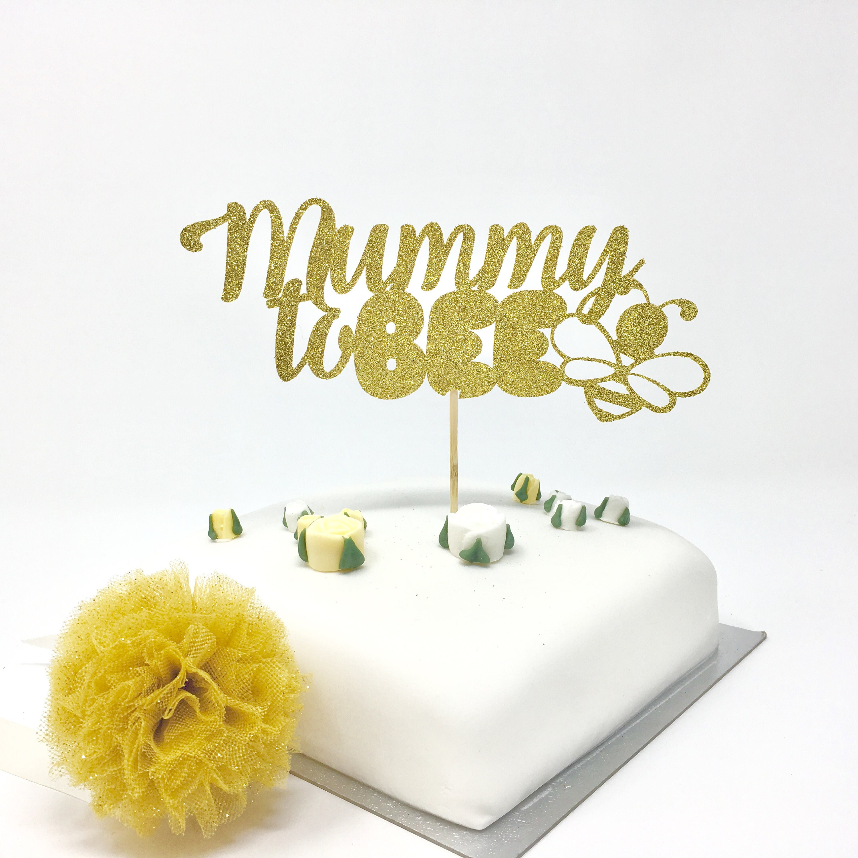 Mummy to bee cake topper. Gender Reveal Party decor. Baby | Etsy
