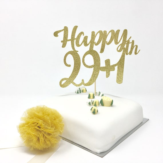 Astounding Funny 30Th Birthday Cake Topper 29 Plus 1 Available For All Etsy Funny Birthday Cards Online Bapapcheapnameinfo