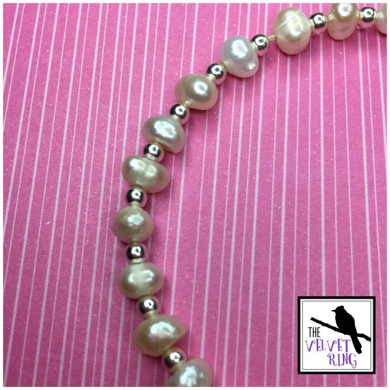 Fresh Water Pearl BraceletAnklet