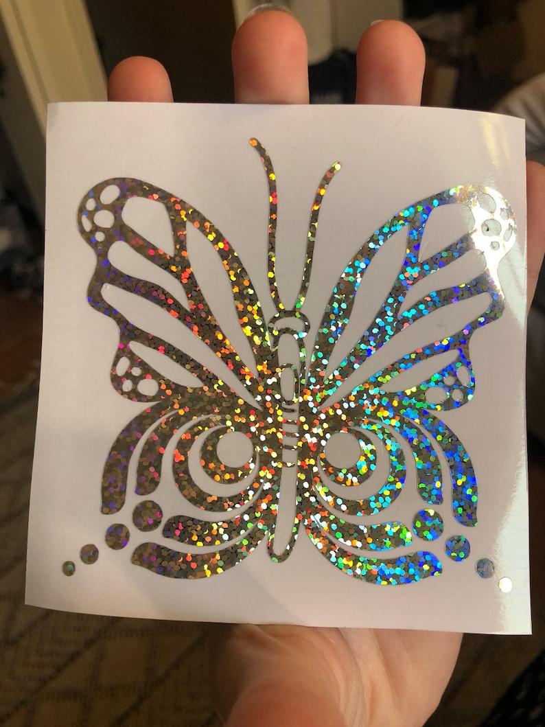 Bass Butterfly Decal