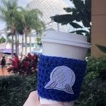 Epcot Spaceship Earth Coffee Cozy Disney Coffee Cozie