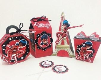 Ladybug Party favors Souvenirs custom