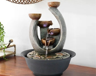 Indoor Water Fountain Etsy