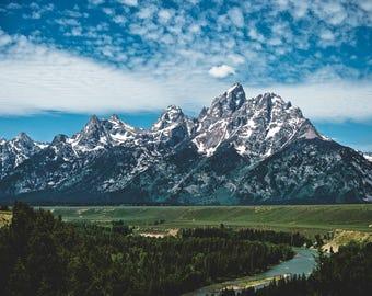 8x10 Teton National Park Print