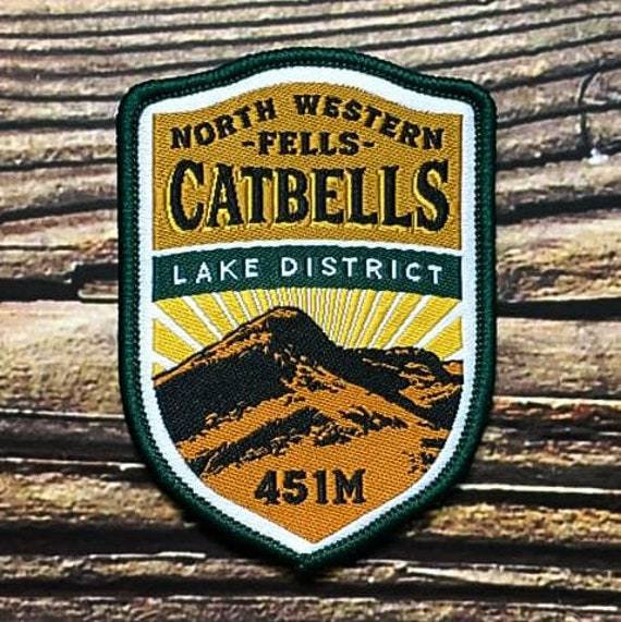 Catbells Embroidered Patch