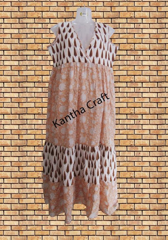 Indian Ethnic Women/'s Designer Short Cotton Printed Tunic Top Cotton Printed Blouse  Cotton Printed kurti