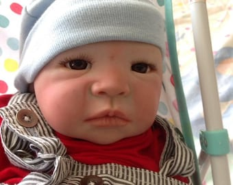 Reborn doll Baby Riley. Sculpted by Aleina Patterson