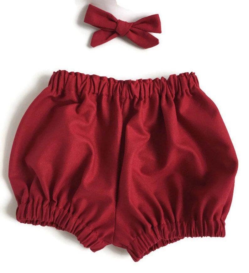 Babies First Christmas Autumn Bloomers Baby Girl Bloomers Unisex Baby Clothing Christmas Bloomers Red Baby Bloomers Baby Boy Bloomers