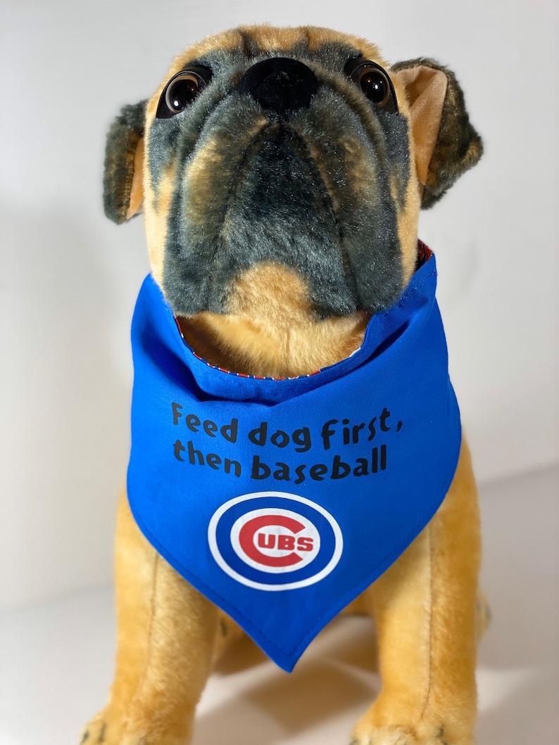 Chicago Cubs Reversible Dog Bandana