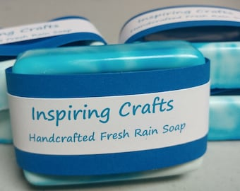 Handcrafted Fresh Rain Soap