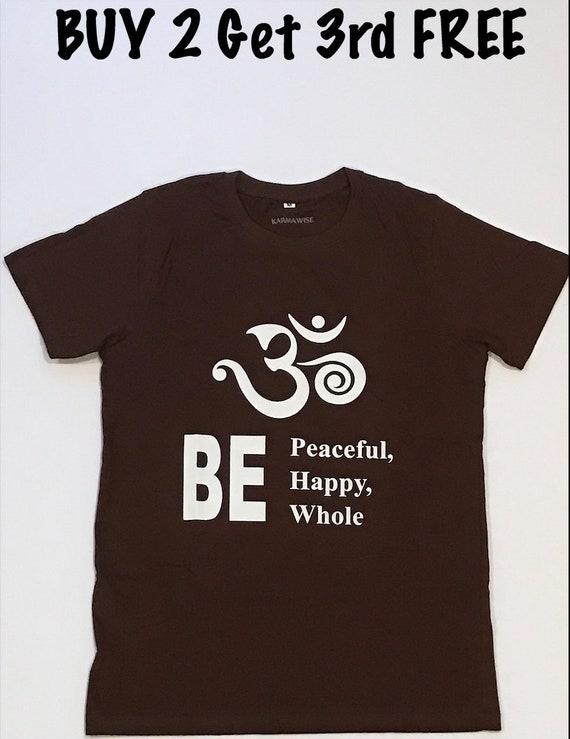 Aum Yoga Unisex Tee Shirt Cute Yoga T Shirt Shirt With Etsy