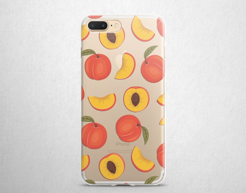 peaches iphone 8 plus case