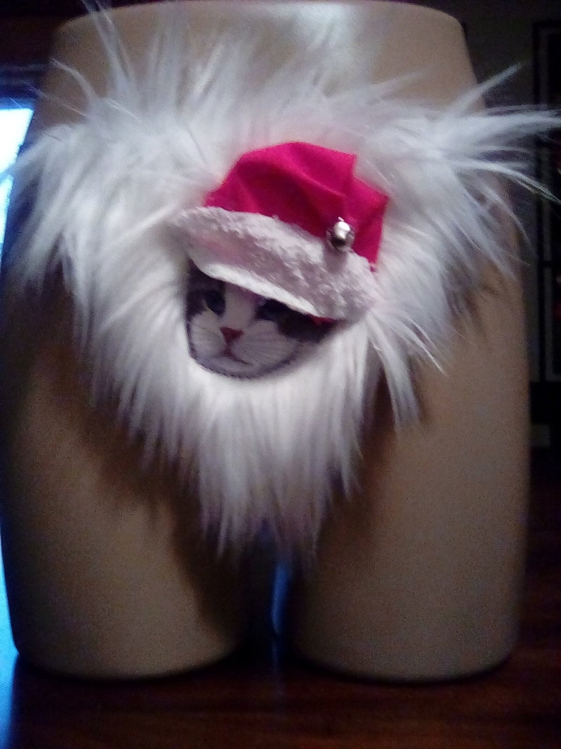 Frohe Weihnachten Katze.Frohe Weihnachten Katze G String Gag Geschenk Unterwäsche