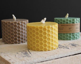 Honeycomb Soy & Beeswax Candle