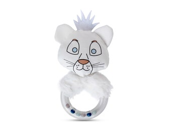 Baby Lion Rattle Toy