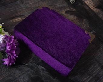 velvet magic book,grimoire,book of shadow,witch wizard handmade notebook,black magic junkjournal