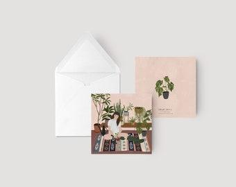 Sunday - Greeting card