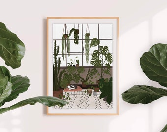 Loft - A3 print