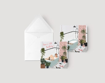 Have a chill birthday! - Greeting card