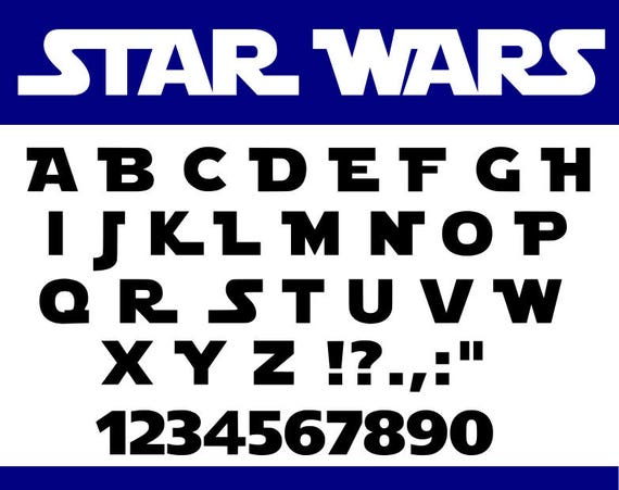 Star Wars Fonts - Free downloads and reviews - CNET ...