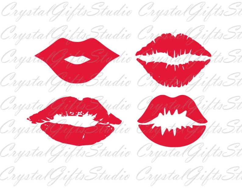 Lips Svg Kiss Svg Mouth Svg Lipstick Svg Svg Files For Etsy