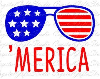 Merica svg, us flag svg, american flag svg, 4th of july svg, fourth of july svg, independence svg, usa svg, svg files for cricut, svg, dxf