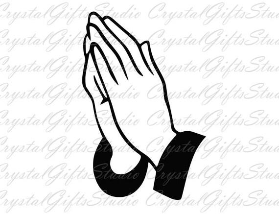 Praying hands svg pray svg prayer svg christian svg god   Etsy