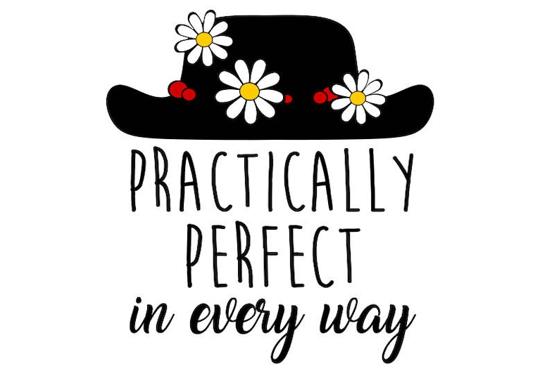 Praticamente perfetta in formato svg Mary Poppins svg disney  242e3642715e