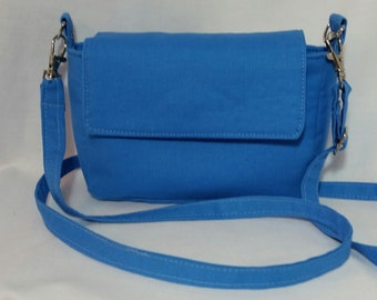 Small royal blue crossbody