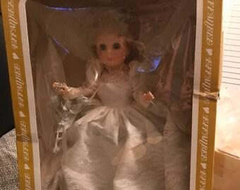 Princess Bride Wedding Doll
