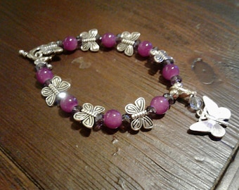 Butterfly Purple Bracelet