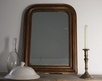 Mercury Glass Mirror Etsy