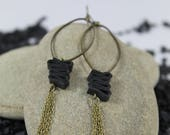 Earrings ethnic style, original and handcrafted.