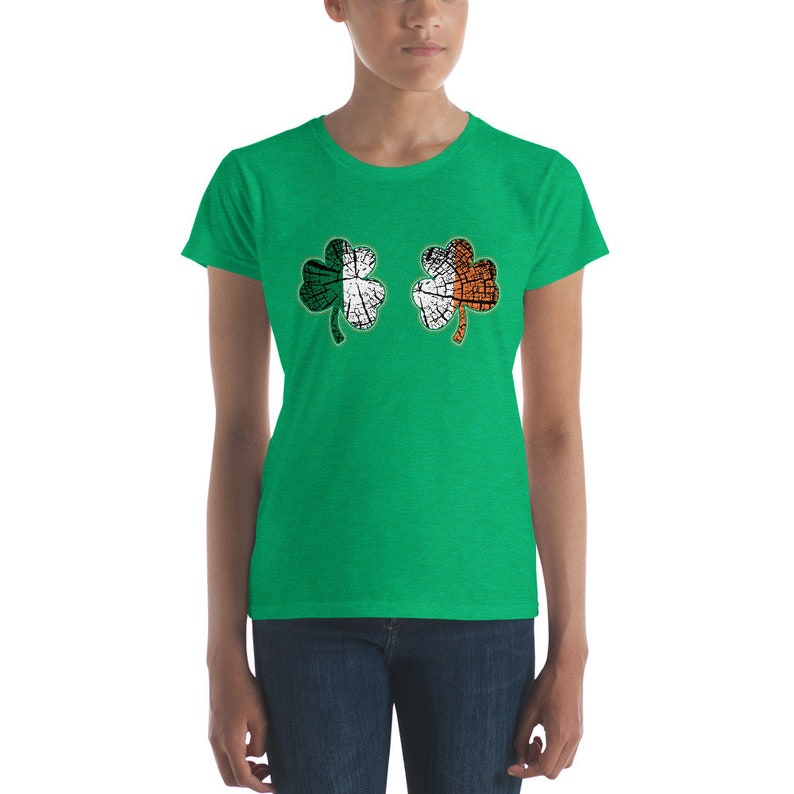 Shamrock Boobies Shirt Funny St Patrick s Day Party tshirt  7a2d99c04